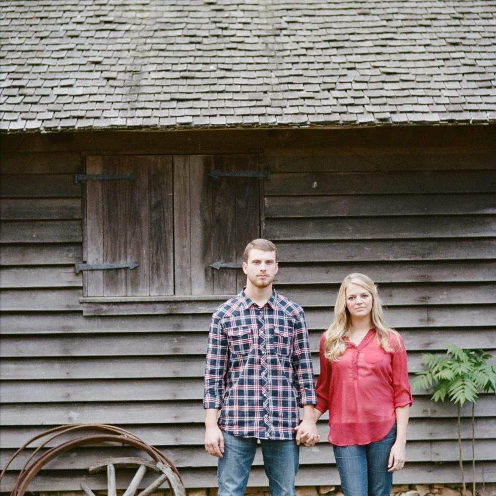 Sonia & Matt: Burritt on the Mountain Engagement (Alabama Film Photographer)