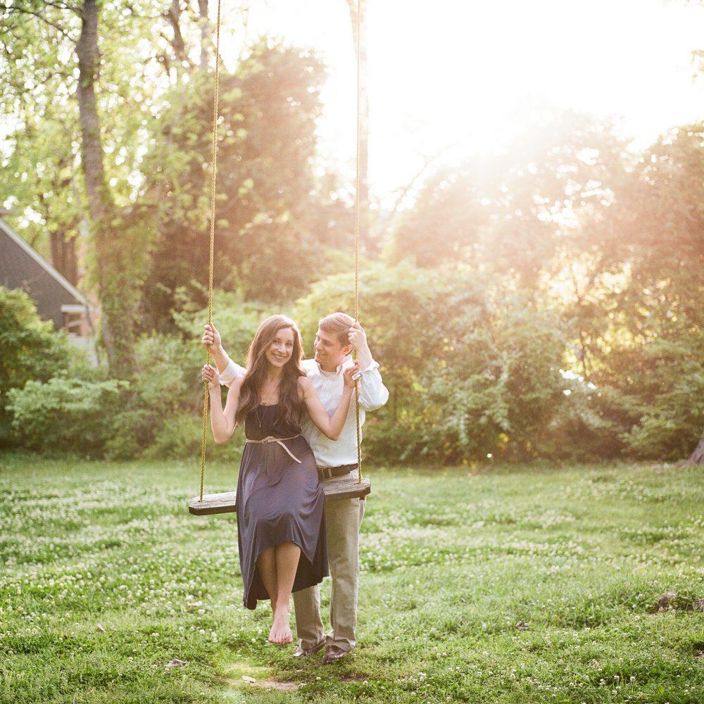 Caitlyn & Jeff: Weeden House Museum Engagement