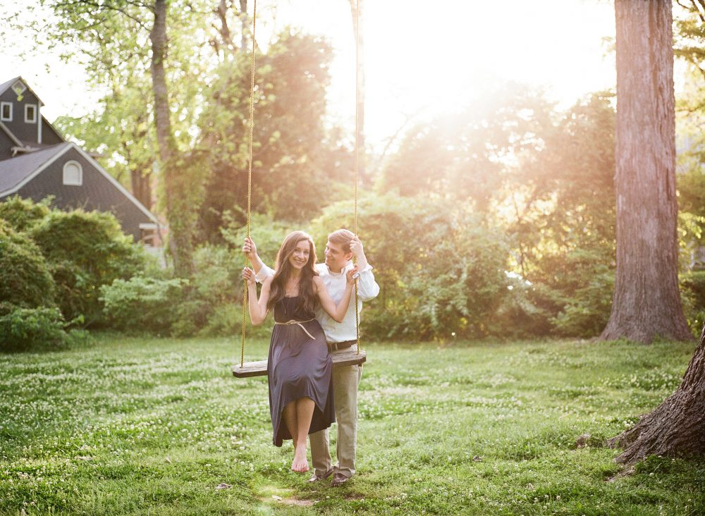 Caitlyn & Jeff: Weeden House Museum Engagement