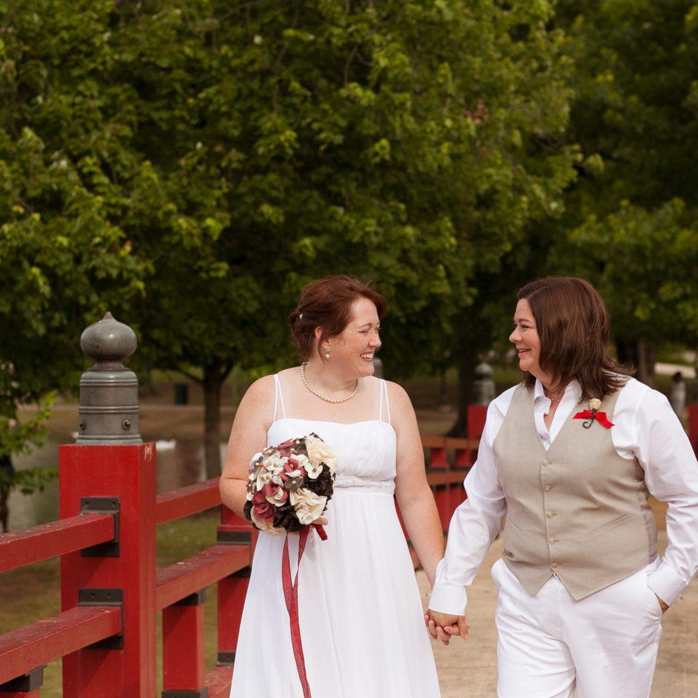 Rebecca & Shannon: Playhouse Wedding