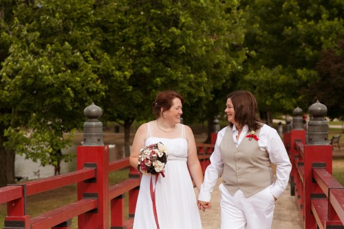 Rebecca & Shannon: Playhouse Wedding