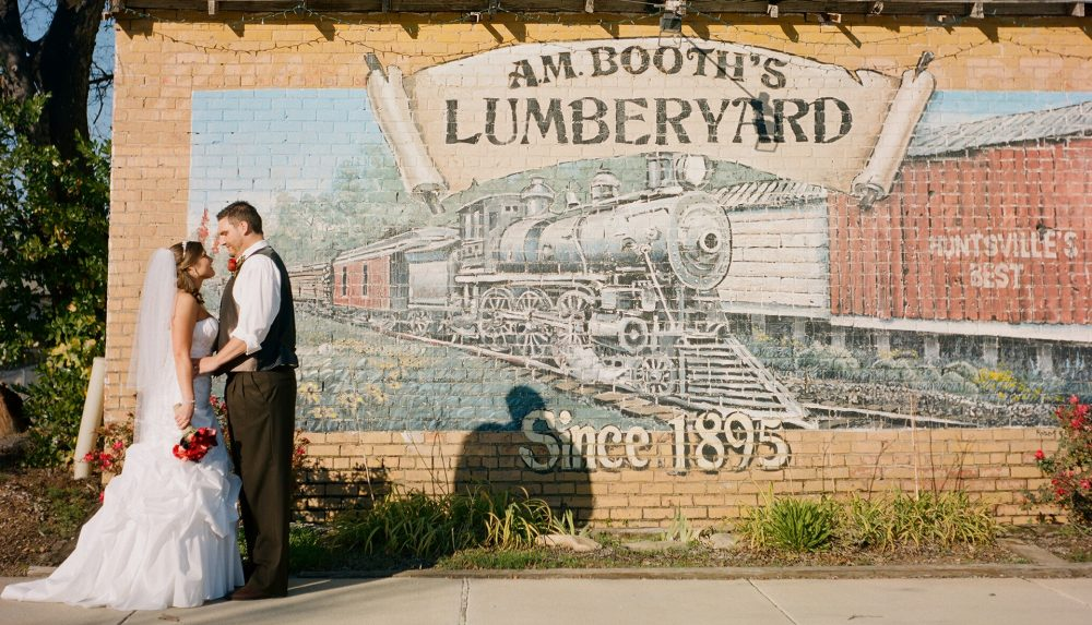 Josh & Megan's Summertime Lumberyard Wedding