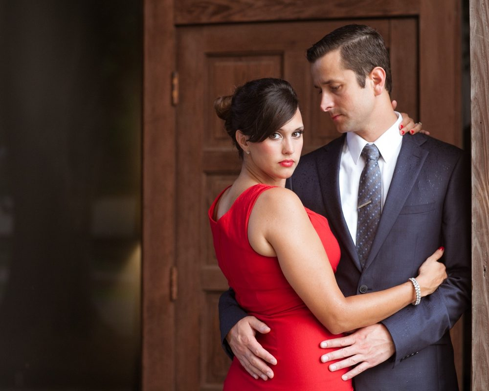 Jason & Michelle: Mad Men Inspired Engagement