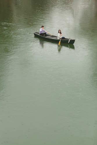 Rachel & Carl: Canoeing Adventure Engagement Session