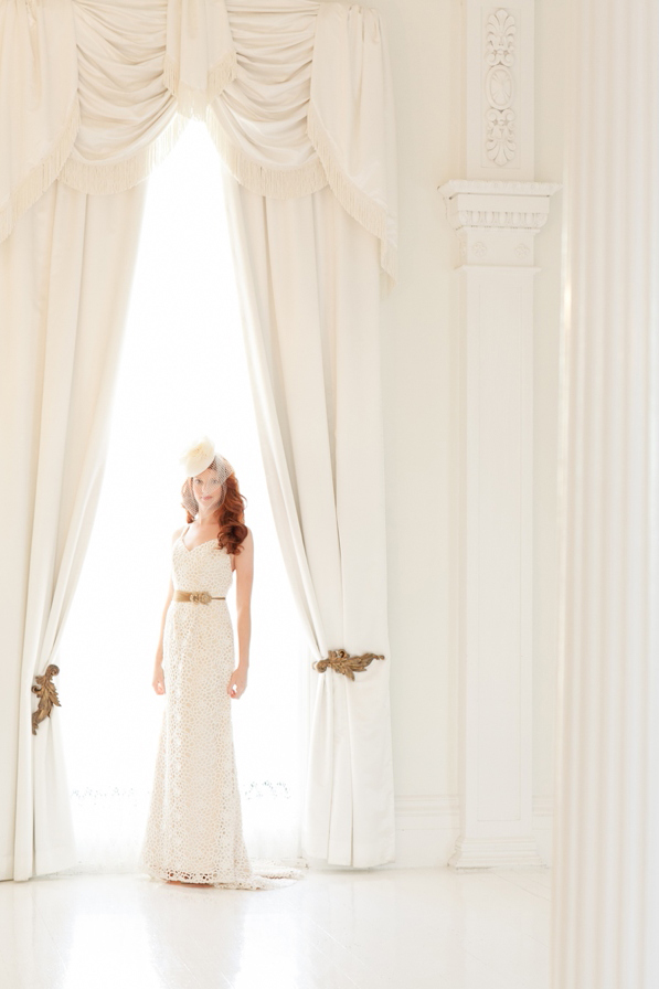 Southern Bride Magazine: Nottoway Plantation Fashion Shoot