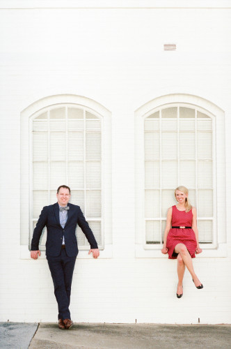 Abby & Andrew: Downtown Huntsville Engagement