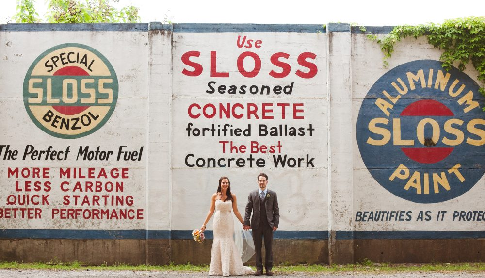 Matt & Carly's Sloss Furnaces Wedding