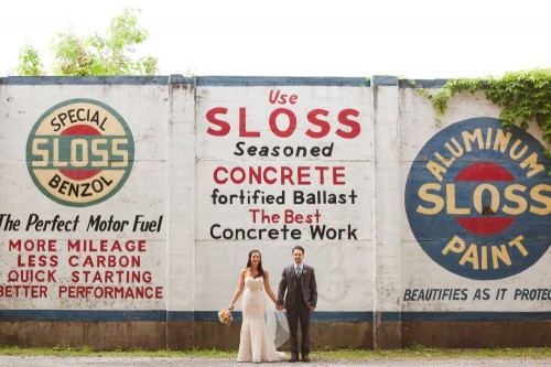 Carly & Matt: Sloss Furnaces Wedding