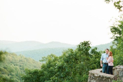 Sarah & Michael's Monte Sano Mountain Engagement