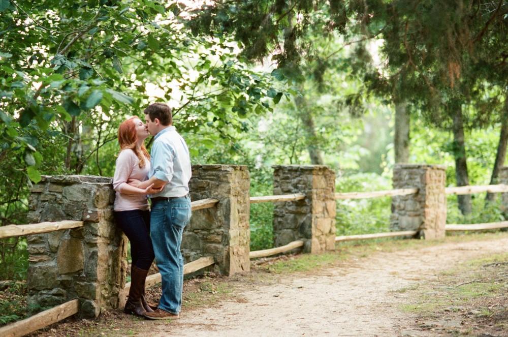Sarah & Michael's Monte Sano Mountain Engagement