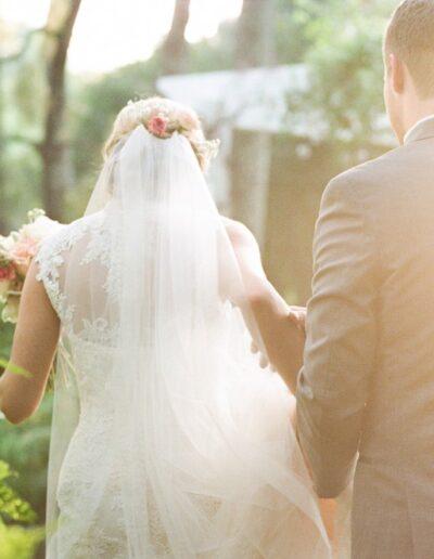 Sonia & Matt: Creekside Wedding
