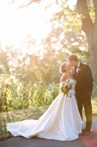 Candice & Zach: Baron Bluff Wedding