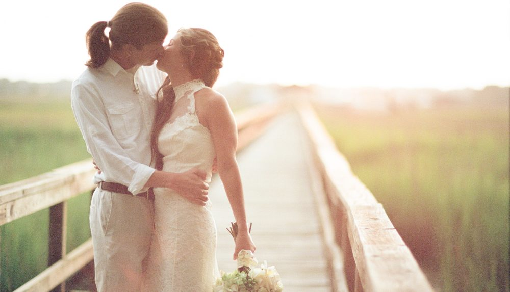 Kelsey & Bradley's Dutch Island Wedding