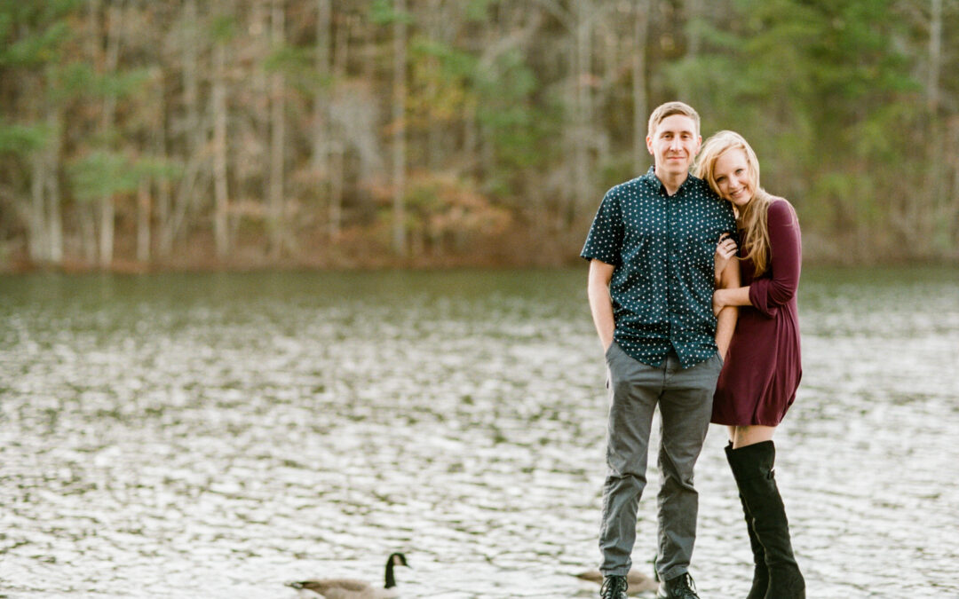 Carol Ann & Kyle: Green Mountain Engagement