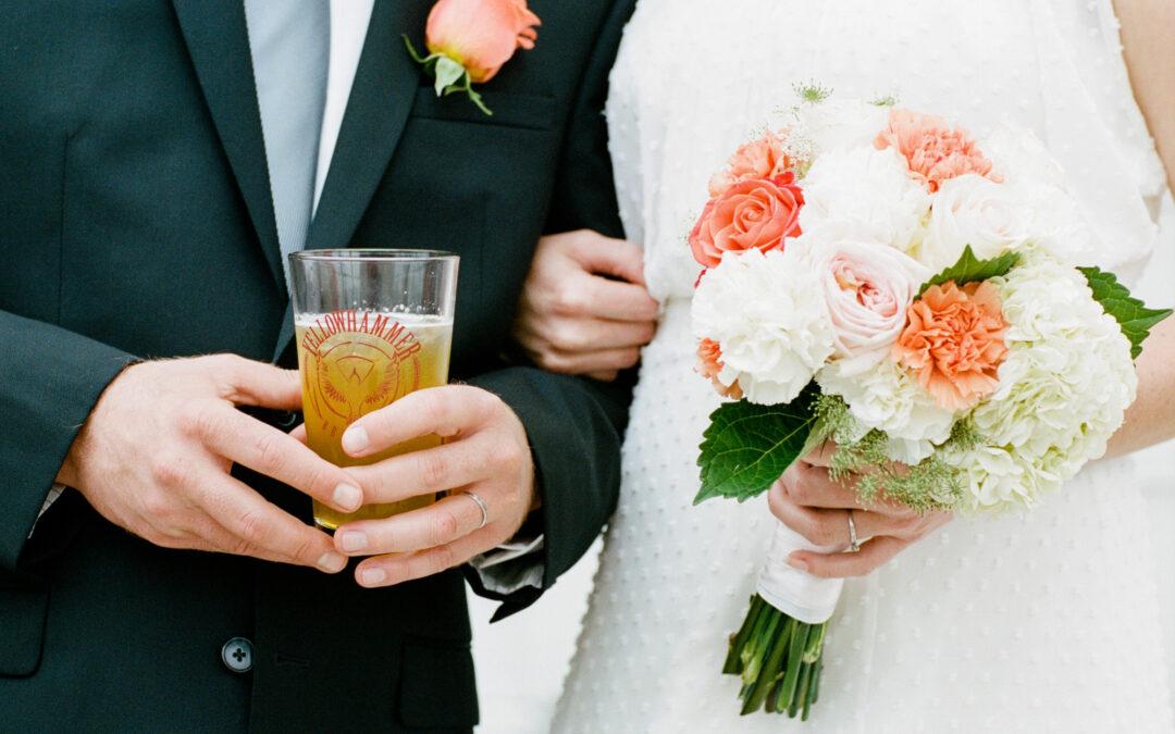 J.D. & Jennifer: Yellowhammer Biergarten Wedding