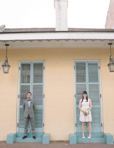 Heather & Quinn: New Orleans Elopement