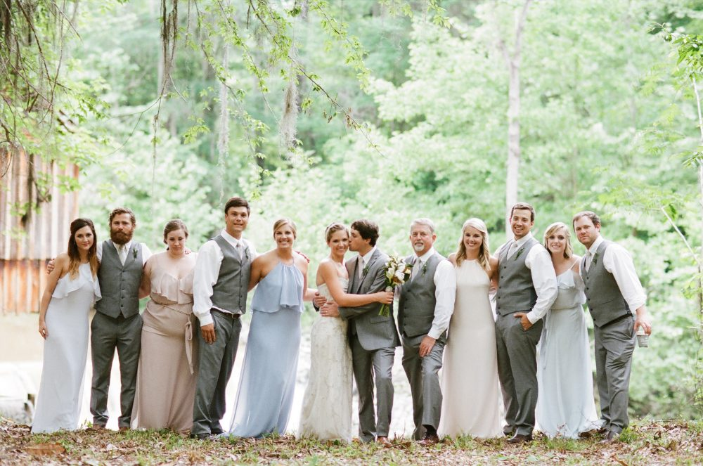 Kay & Tyler: Rikard's Mill Historical Park Wedding