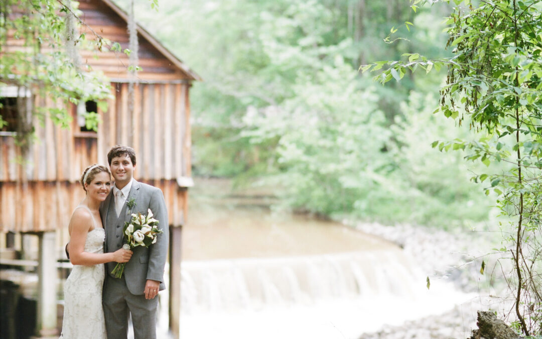 Kay & Tyler: Rikard's Mill Historical Park Wedding