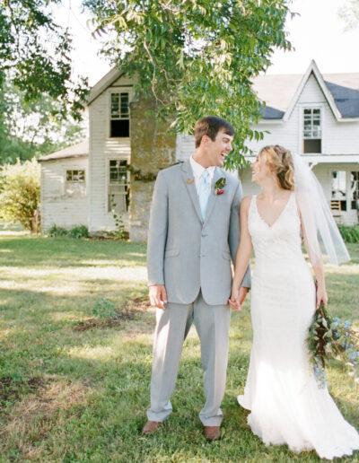 Kelsey & Morgan: Southern Farmhouse Wedding