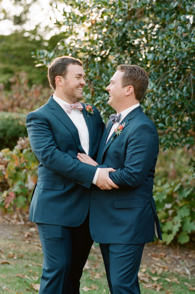 Thomas & Joseph: Backyard Wedding