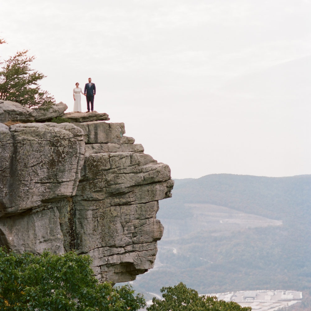 MacKenzie & Aaron: Sunset Rock Elopement