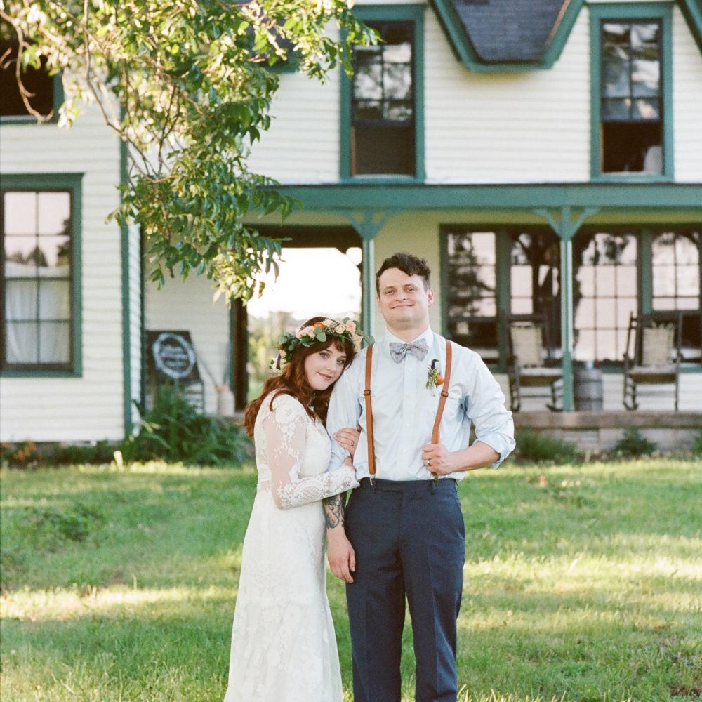 Kylie & Jeff: Hardy Chambers Farmhouse Wedding