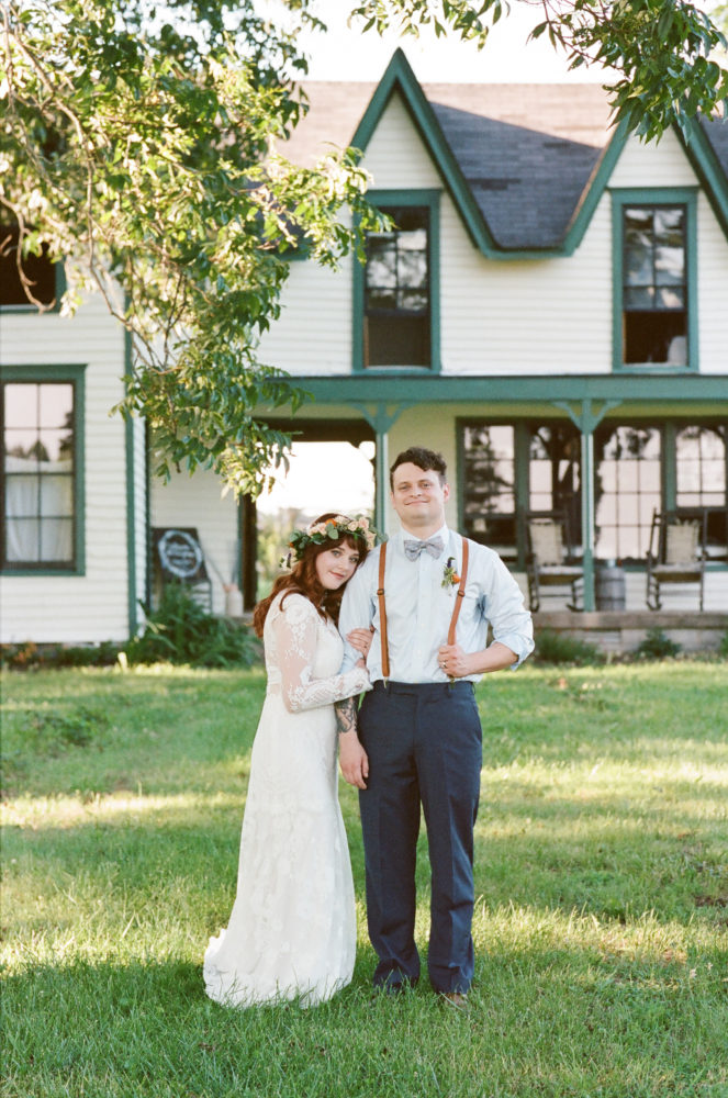 Kylie & Jeff: Hardy Chambers Farmhouse Wedding