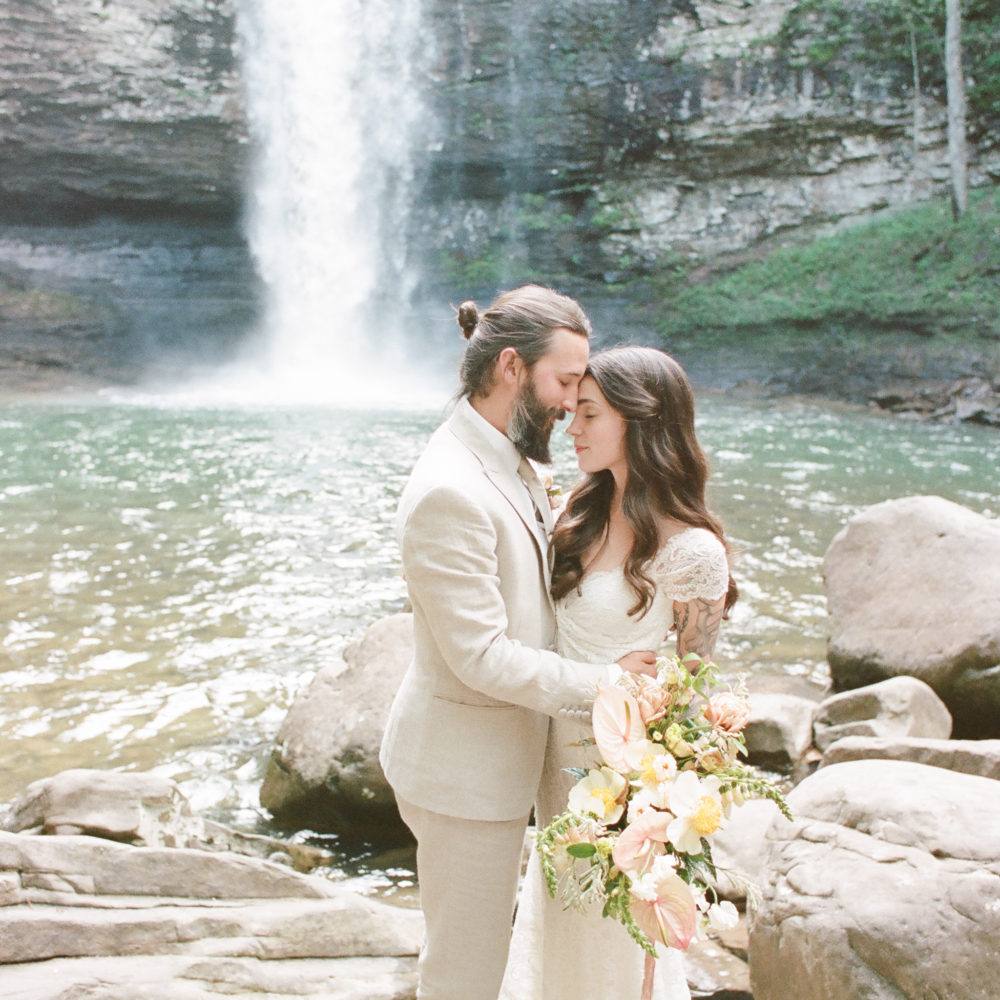Jessica & Drew: Cloudland Canyon Wedding