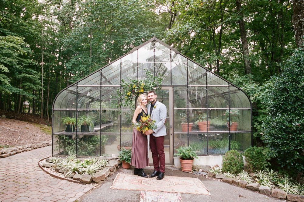 Stephanie & Shannon: Greenhouse Elopement