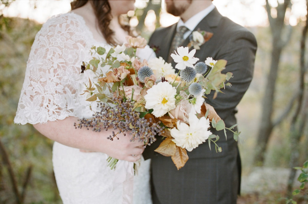 Whitney & Mitchell: Fall Mountain Wedding