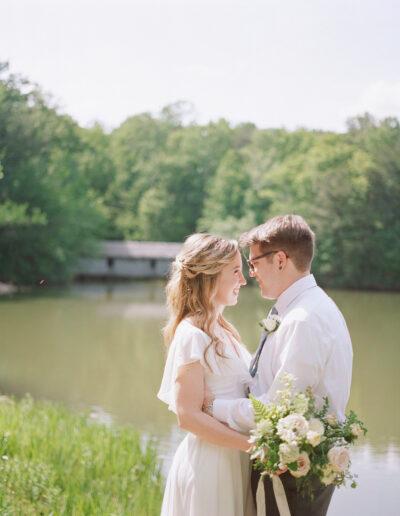 Jill & Cole: Spring Mountain Wedding