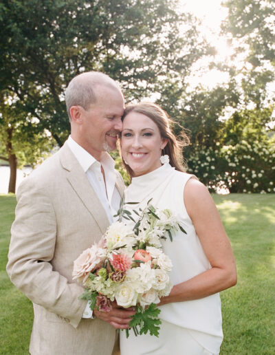 Stacey & JD's Lakeside Wedding