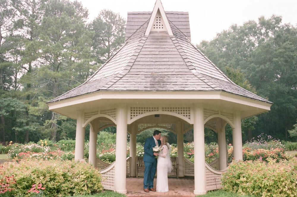 Rosalie & Taylor: Botanical Gardens Wedding
