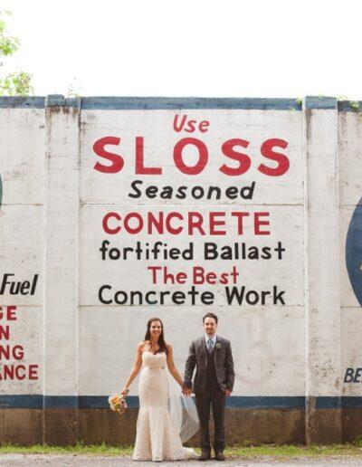 Carly & Matt: Sloss Furnaces Wedding