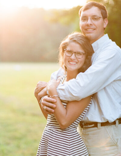 Candace & Zach: Golden Hour Engagement