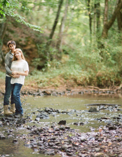 Erin & Heather: Huntsville Engagement Session