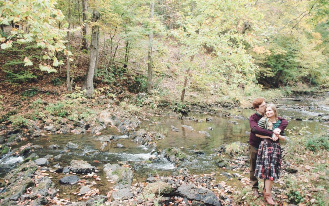 Amber & Jordan: Schoolhouse Engagement