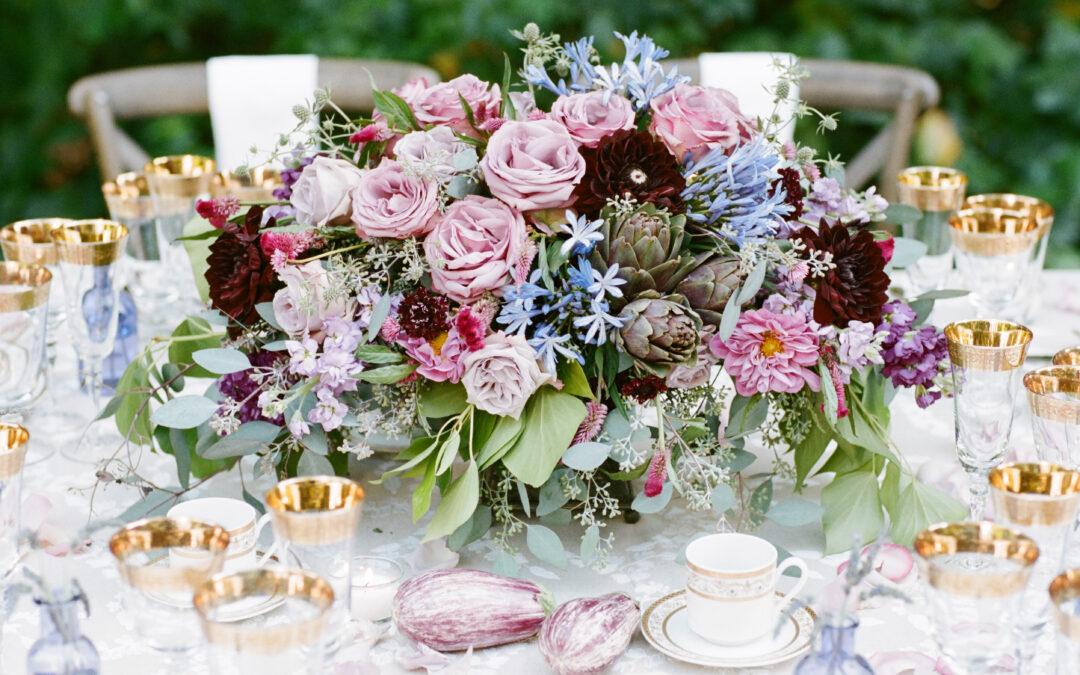 Lavender Bridal Editorial
