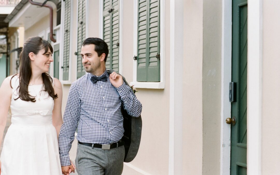 Heather & Quinn: New Orleans Elopement