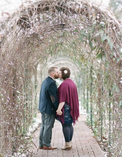 Kellie & Blake: Riverwood Mansion Elopement