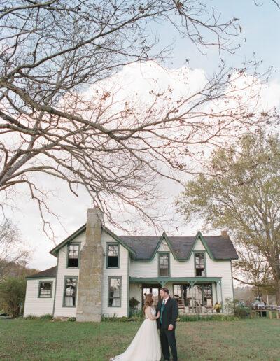 Cynthia & Parrish: HC Farmhouse Wedding