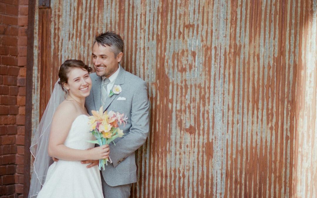 Molly & Dustin: Watercolor Wedding