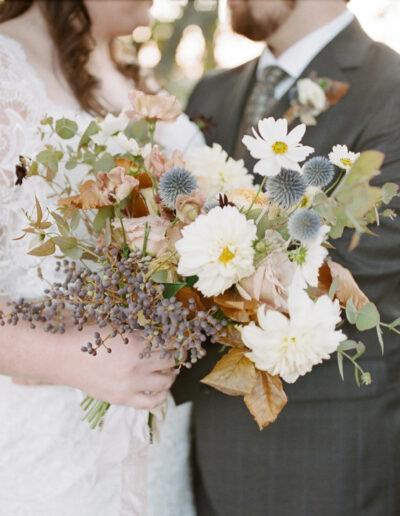 Whitney & Mitchell: Fall Mountain Wedding