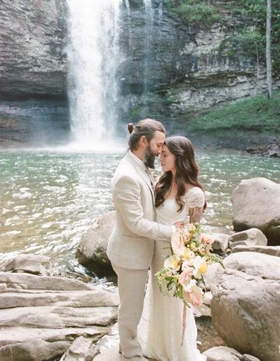 Jessica & Drew's Cloudland Canyon Wedding