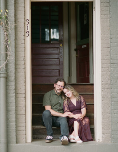 Jackie & Ryan's Downtown Engagement Session